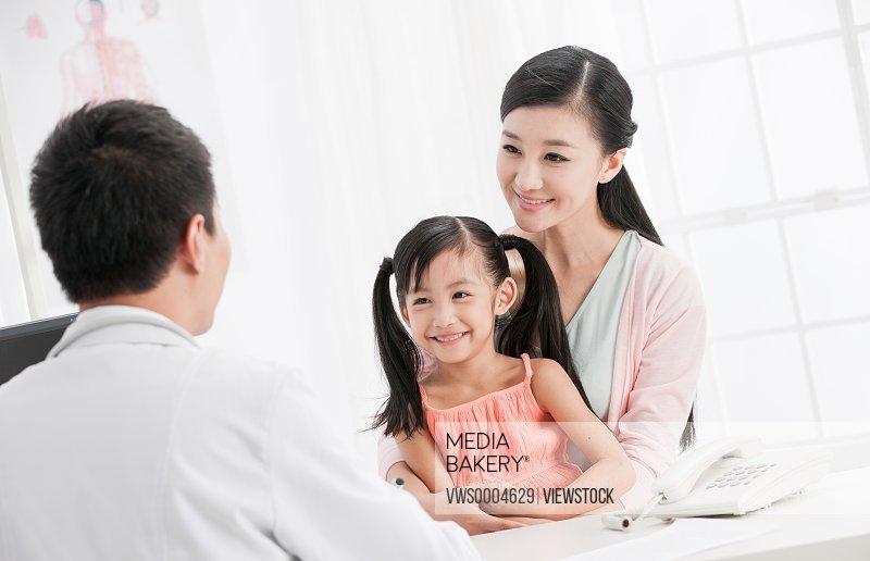 Oriental doctors and patients