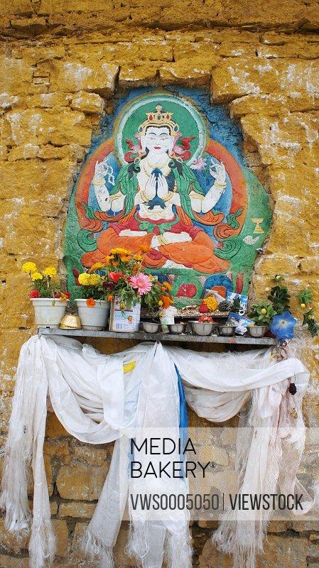 Tibet Lhasa shrines
