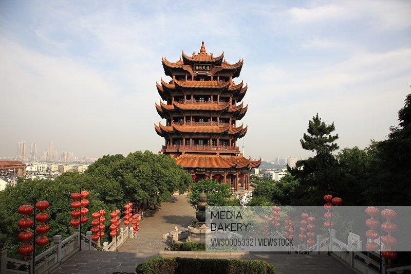Cityscape of Wuhan Hubei China