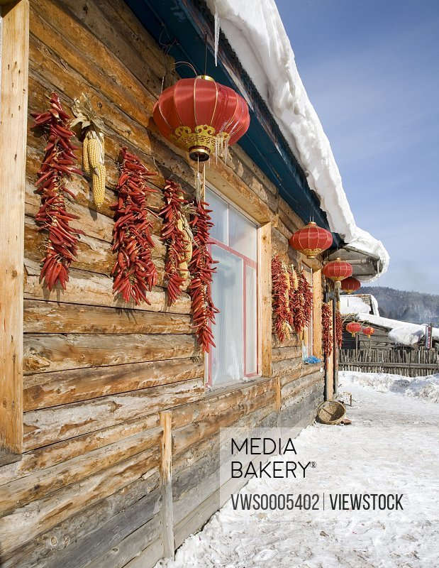 China's Snow Town Heilongjiang China
