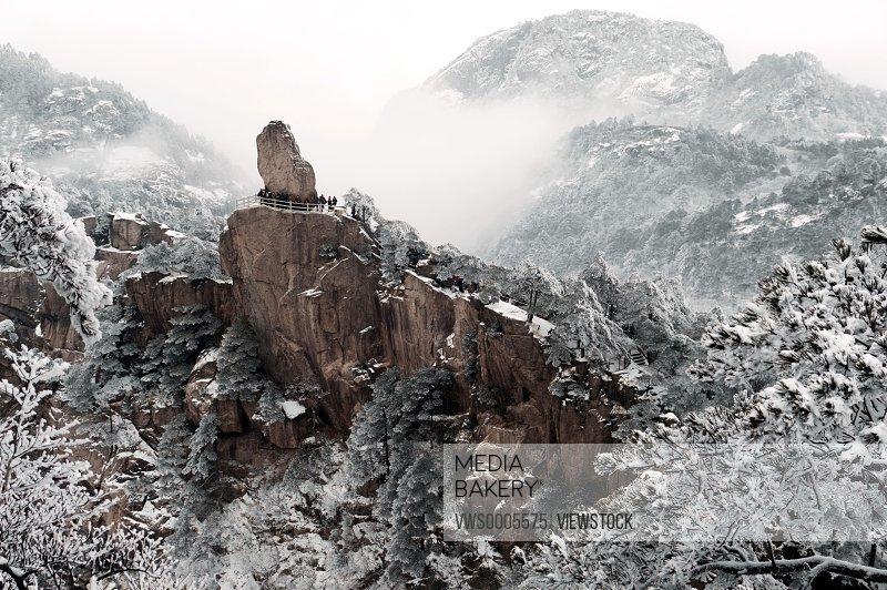 Huangshan Mountain Yellow Mountains Anhui China