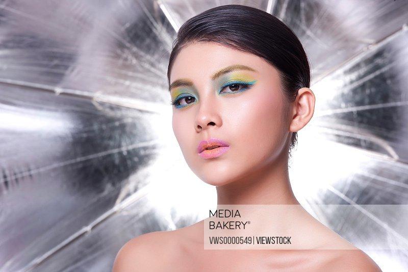 Young lady makeup
