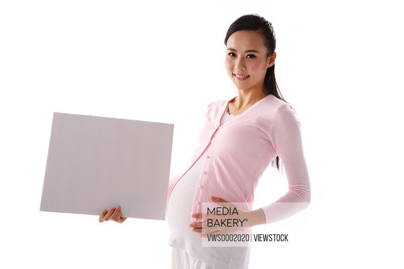 Portrait of a pregnant women