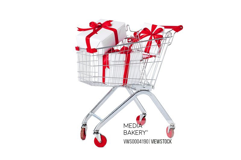 Gift shopping cart
