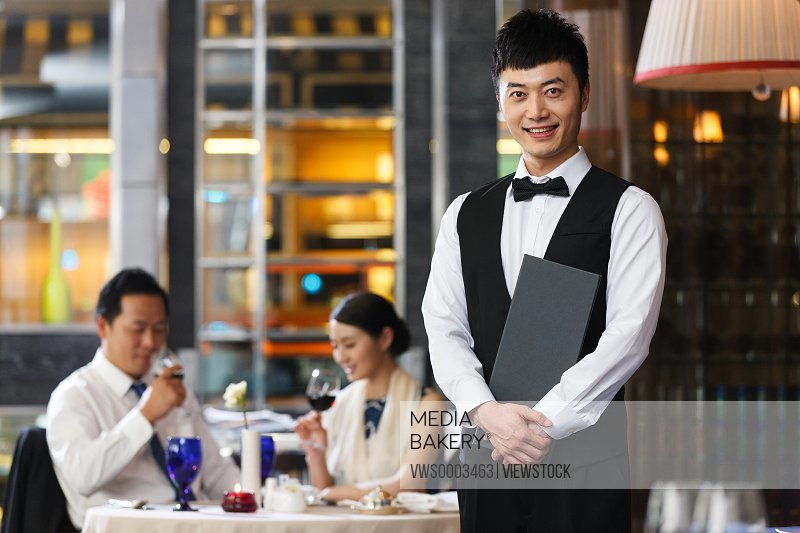 Portrait of hotel service staff