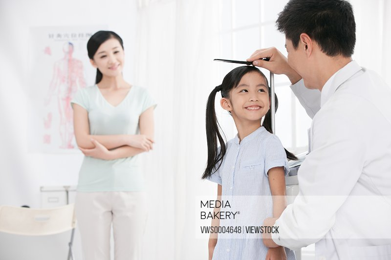 Child's measuring height