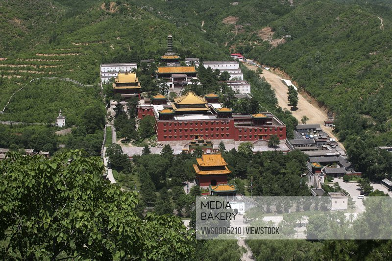 Temple in Chengde Hebei Province China