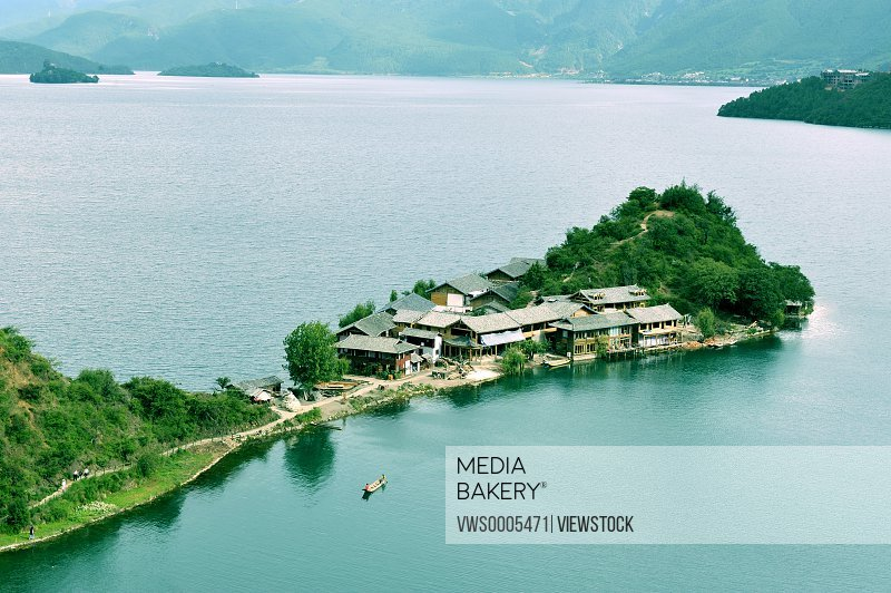 Lugu Lake Yunnan China
