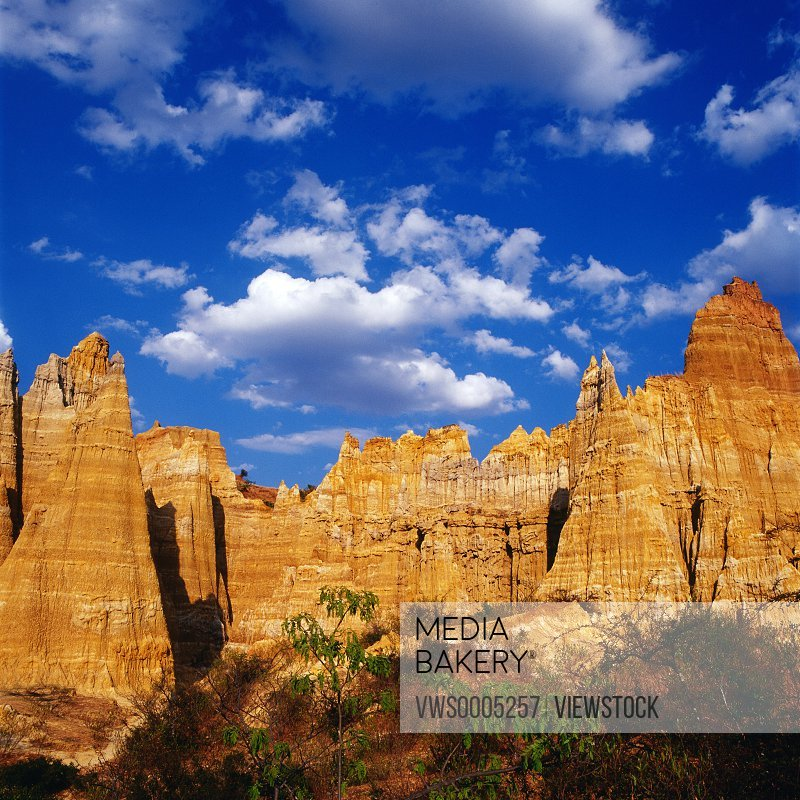 Land feature in Yunnan Province China