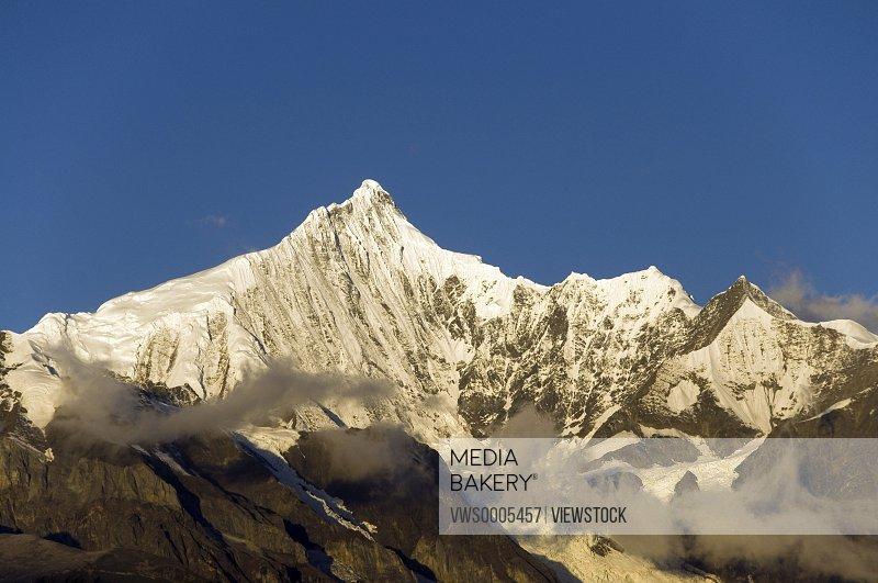Snowcapped Yunnan China