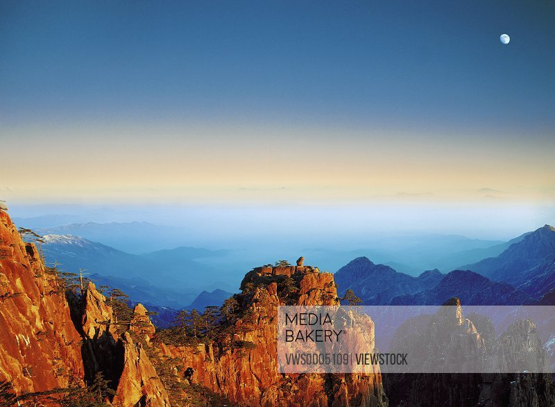 Mt huangshan in Anhui province China
