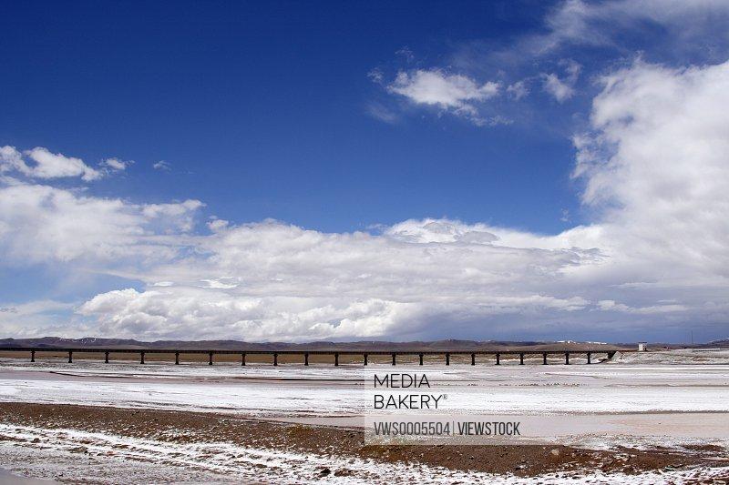 Qinghai-Tibet Railway Qinghai China