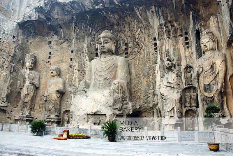 Longmen Grottoes Luoyang Henan China