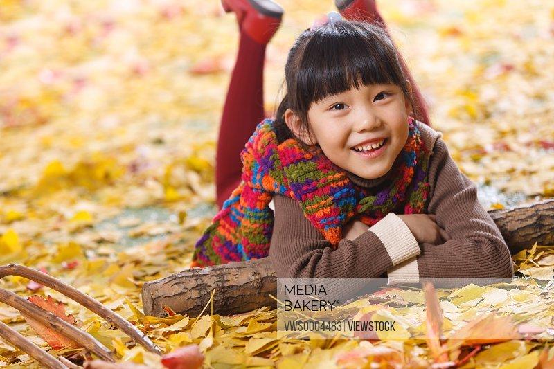 Happy oriental children