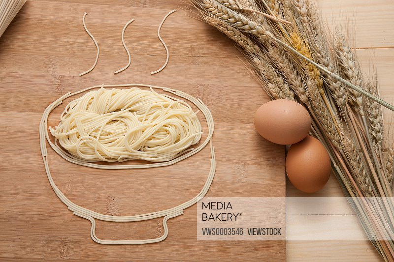 Vermicelli?eggs?and wheats