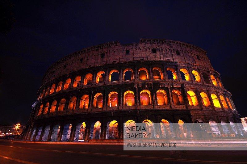 Italy Lazio Rome Colosseum
