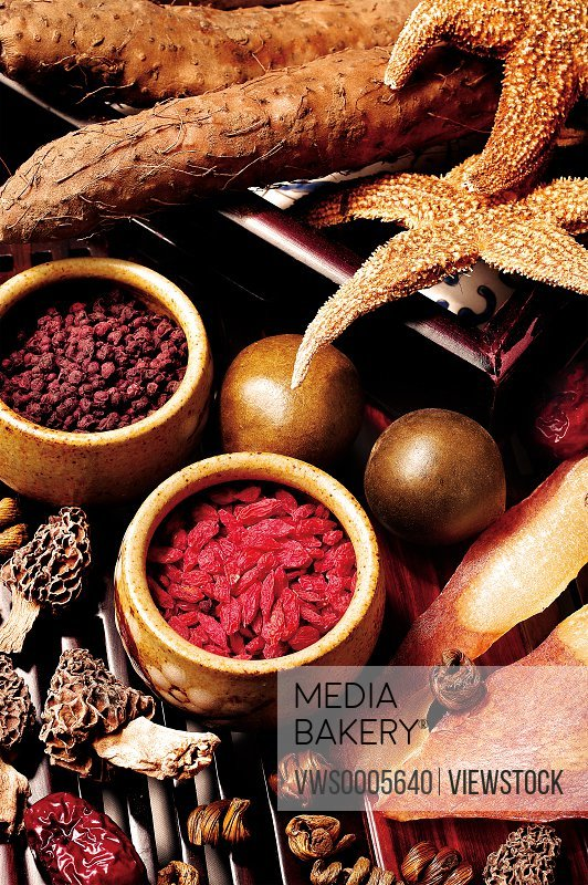 Composition of miscellaneous herbal items