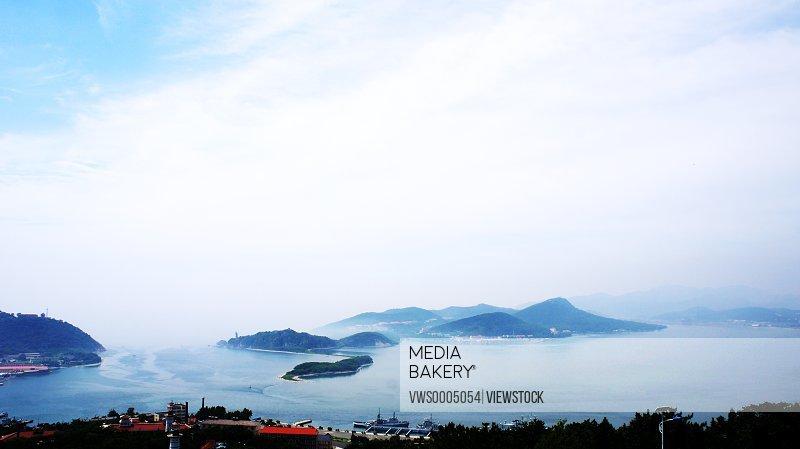 Liaoning Province Lvshunkou scenery