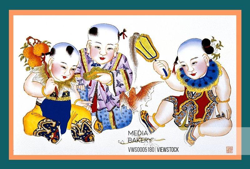 New Year Paintings China