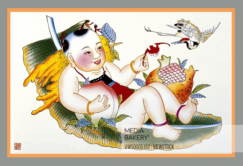 New Year Paintings China