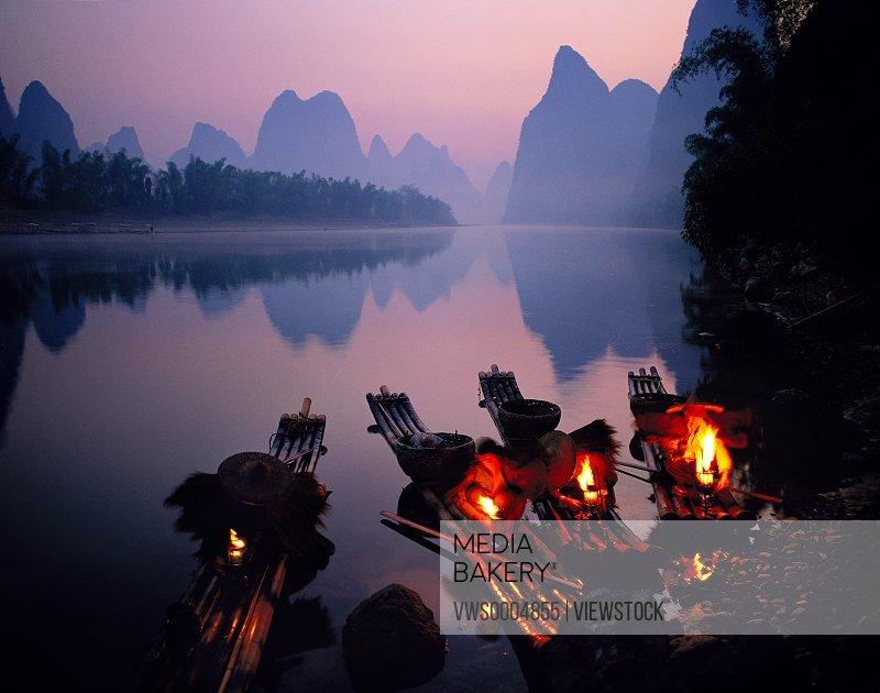 Guangxi Guilin Yangshuo scenery