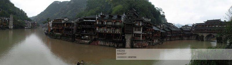 The ancient town of Pheonix Hunan China