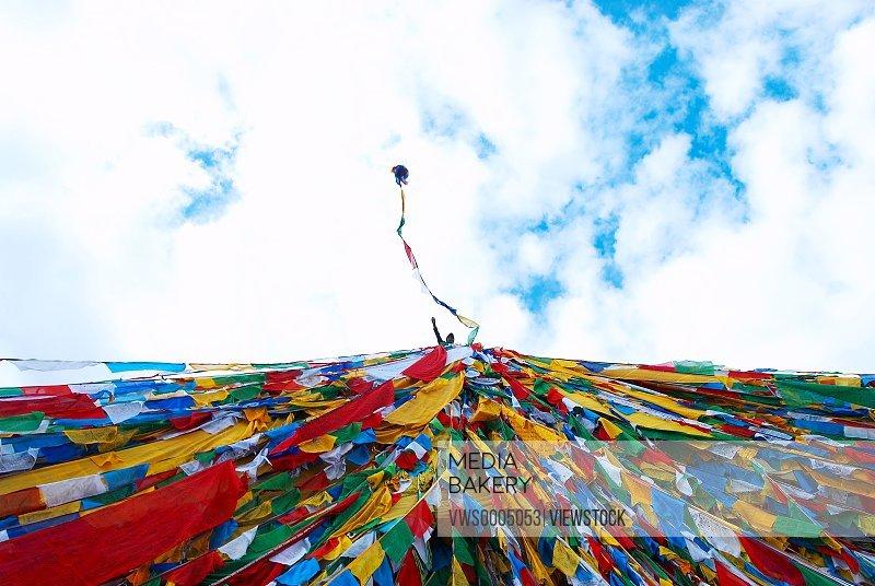 Tibet Lhasa City Wind Horse flag