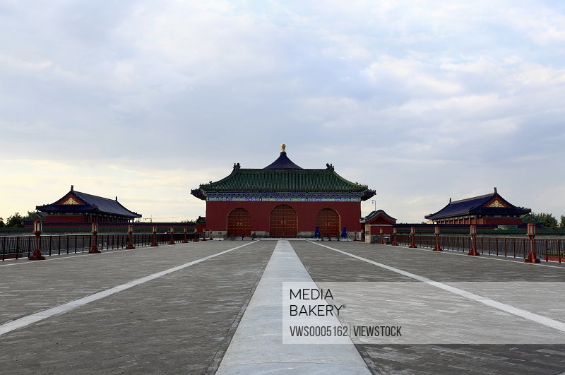 Park of temple of heaven Beijing China