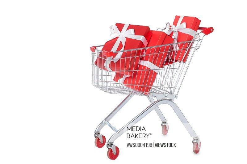 Gift shopping cart