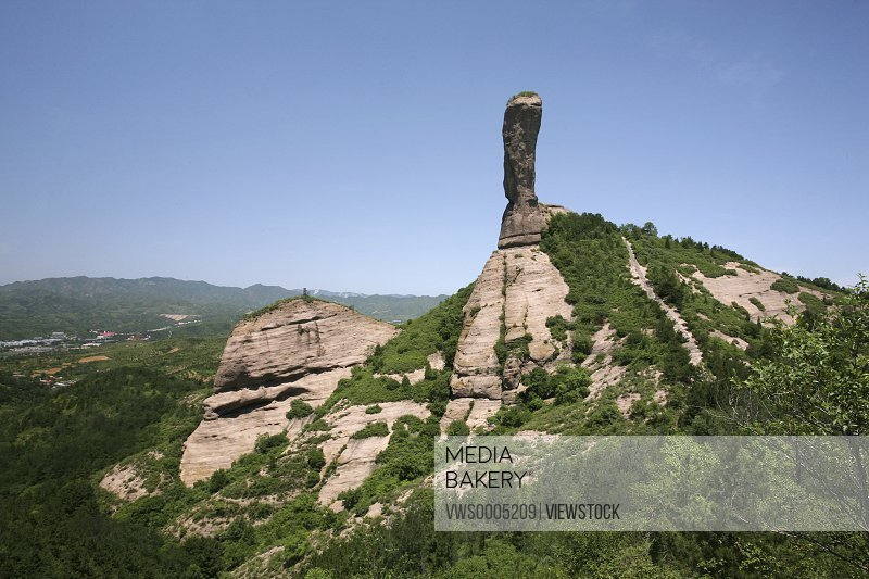 Mountain in Chengde Hebei Province China