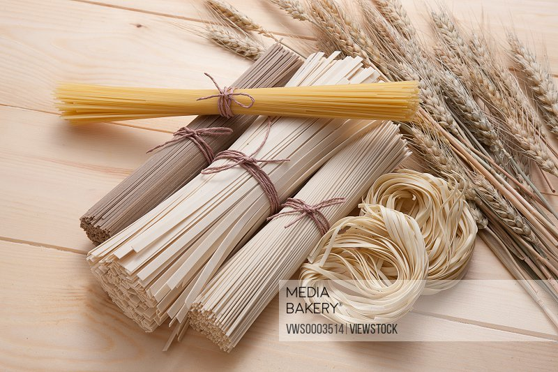 Vermicelli and wheats