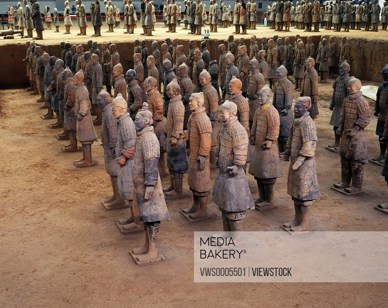 Terracotta Soldiers Shaanxi China
