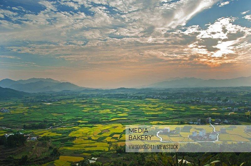 Changsha pastoral scenery
