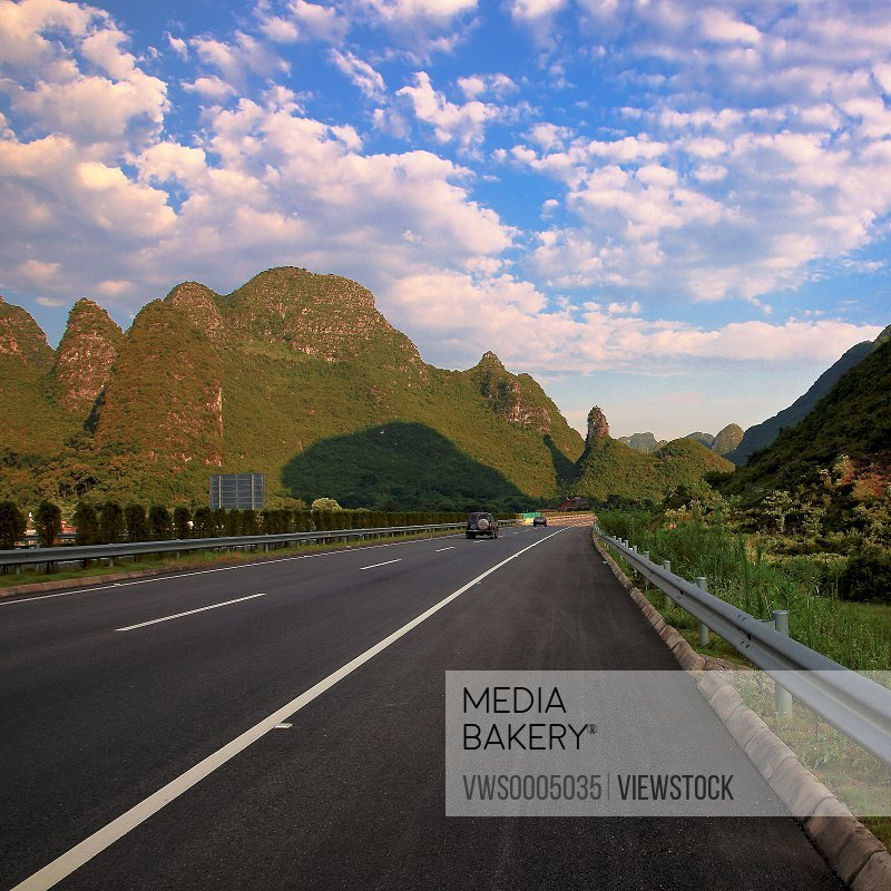 Highway in Guilin