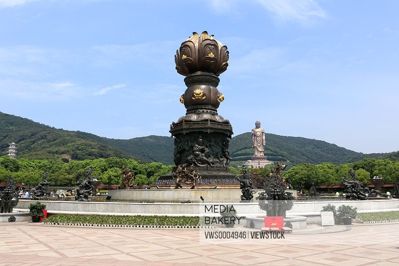 Lingshan scenic spot in Wuxi