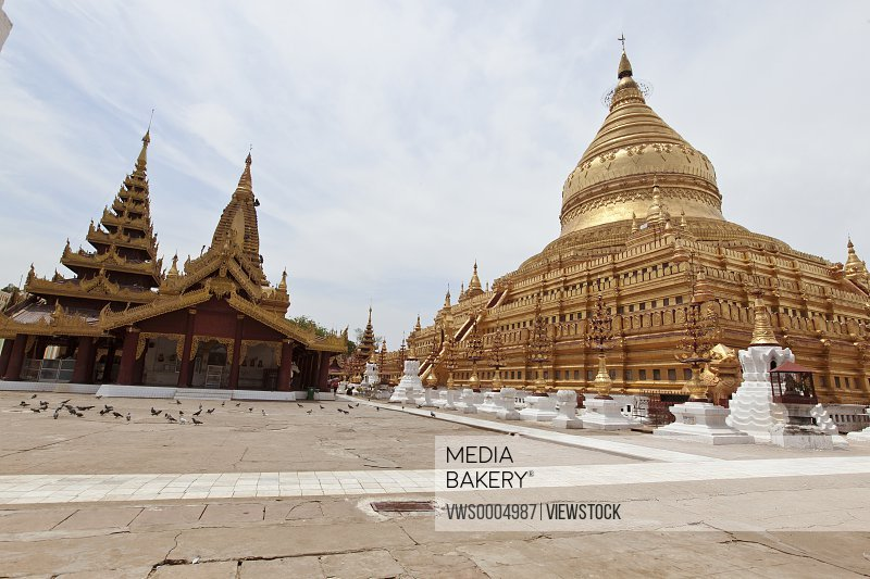 Burma bagan Shwedagon prototype