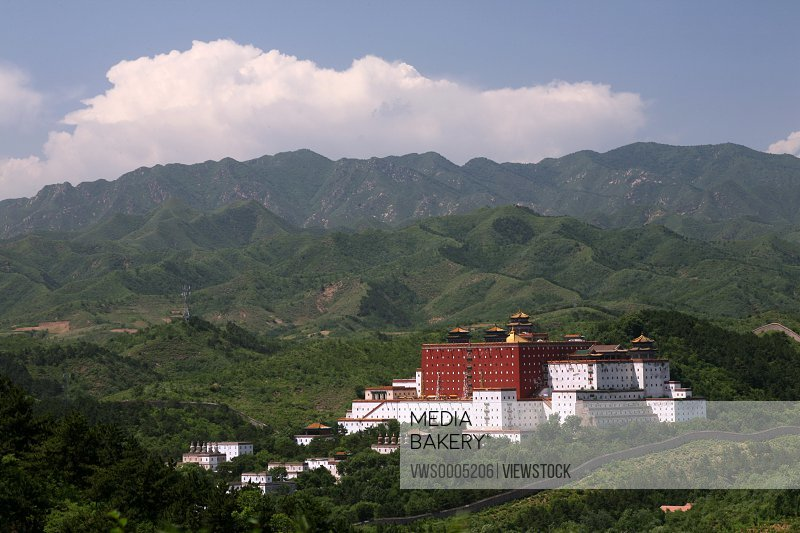 Buddhism Temple in Chengde Hebei Province China