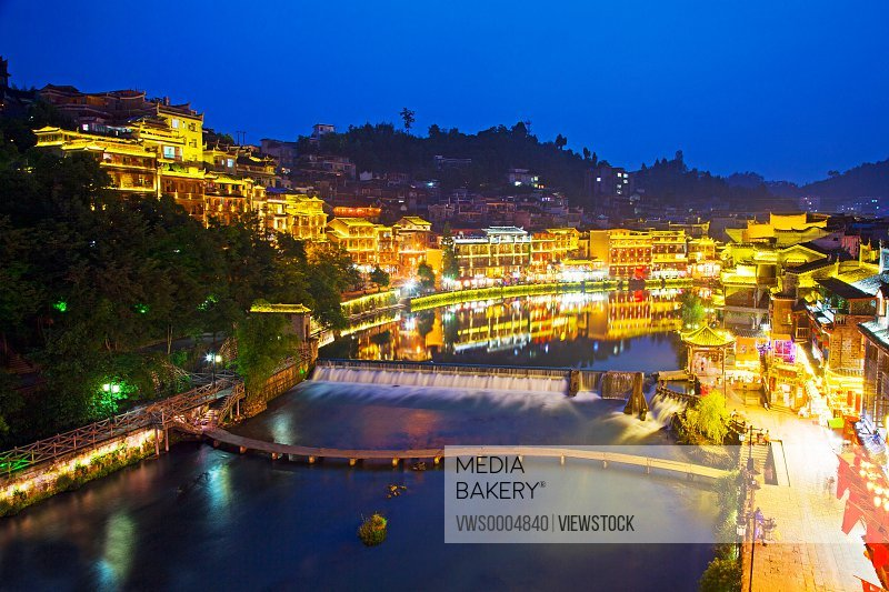 The ancient city Fenghuang in Hunan