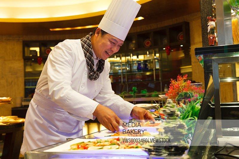 Portrait of chef