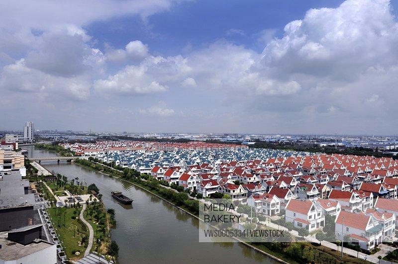 Villas on seaside
