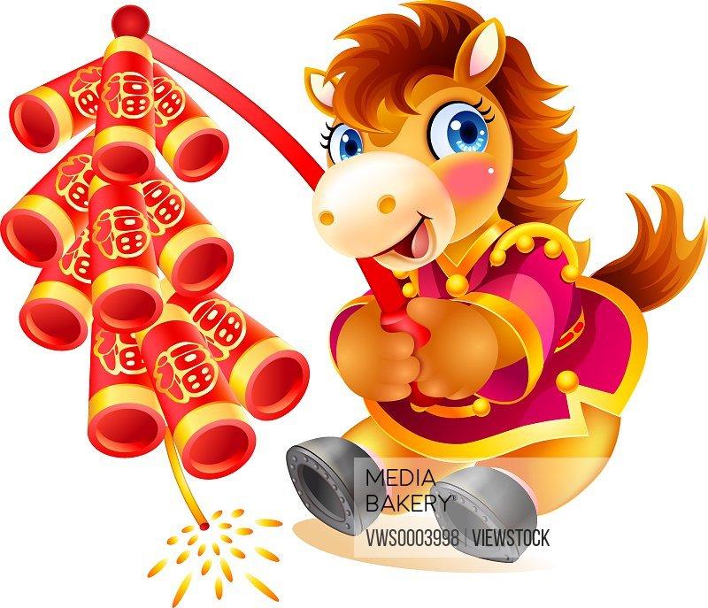 Illustration horse