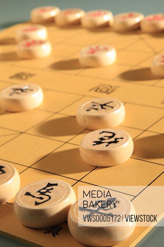 Chinese Chess close-up
