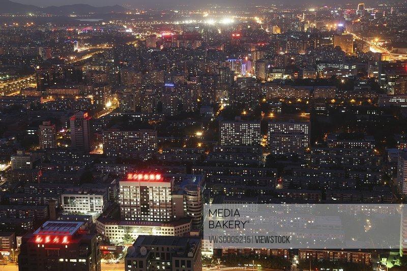 Night scene Beijing China