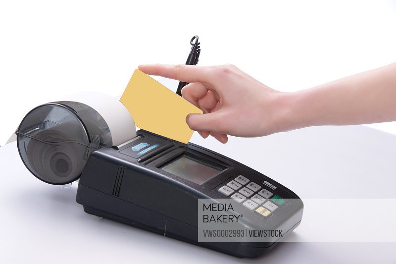 Credit card and POS machine