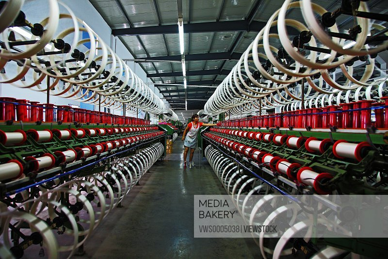 Spinning production line