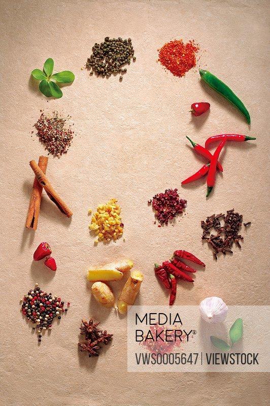 Assorted ingredients