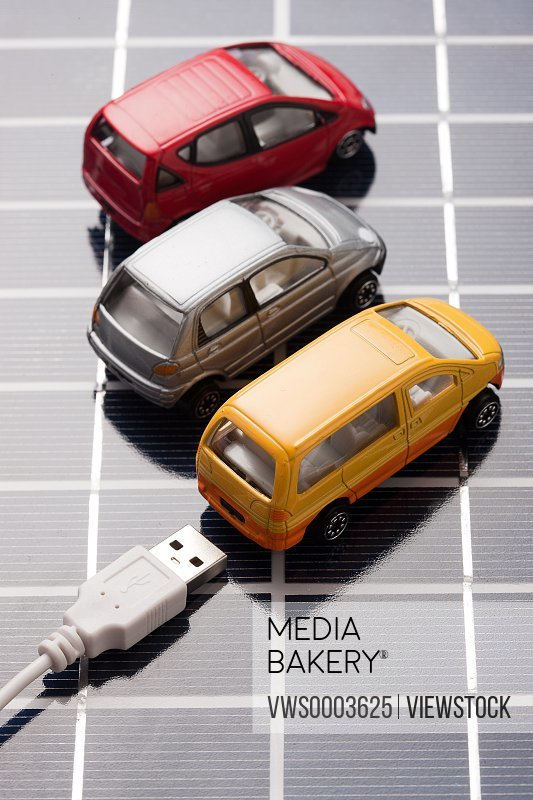 Model cars charging