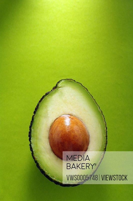 Avocado cross-section