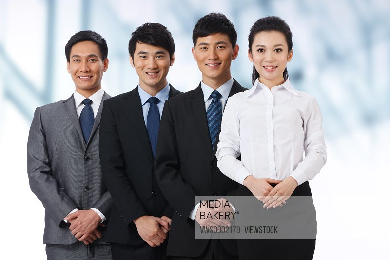 Business people together