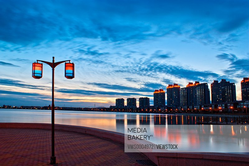 City Lake scenery